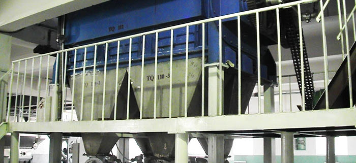 Feed drying equipment