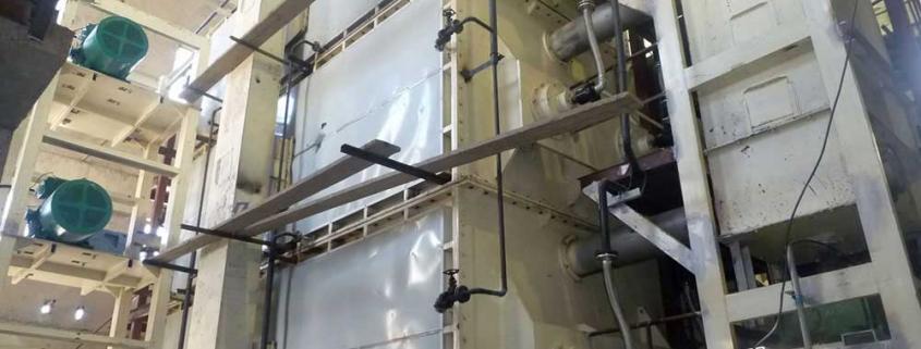 Slime drying equipment