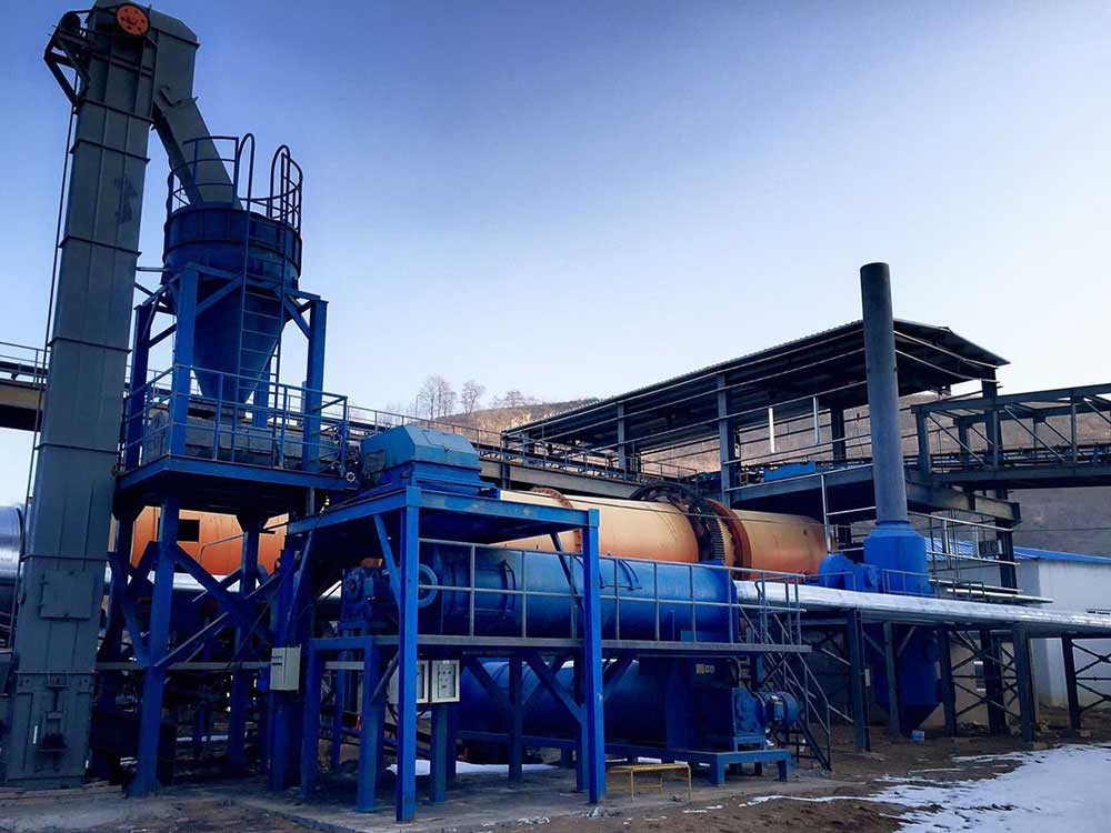 rotary sludge dryer